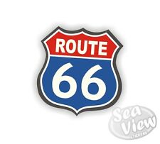 Route 66 autoroute de l'amérique will rogers van voiture autocollants decal autocollant