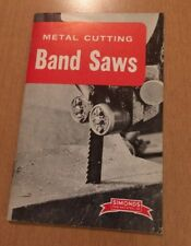 Simonds Saw And Steel Co Metal Cutting Band Saws Booklet