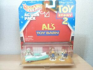 TOY STORY 2 HOT WHEELS ACTION PACK AL'S TOY BARN *