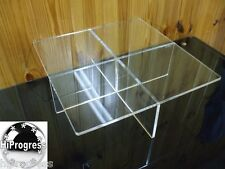 Clear Acrylic Square Large Riser Tray Stand Display Holder for Wedding Cake