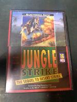 Jungle Strike (Sega Genesis, 1993) Authentic/Tested COMPLETE ! CiB !