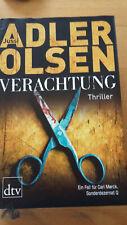 Jussi Adler Olsen Verachtung dtv Verlag 2012 krimis thriller belletristik