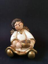 Angelo Thun Vaso Raro Bolzano Dipinto a mano Collezione Bianco Statua statuina