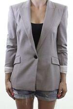 Zara Polyester Check Blazer Coats & Jackets for Women