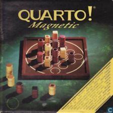 Jeu de société Quarto Magnetic Petit format - Pions en bois - Gigamic