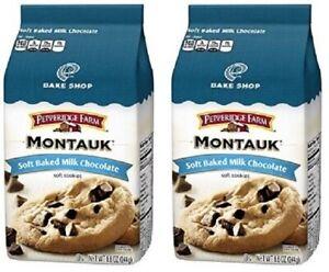 Pepperidge Farm Montauk Milk Chocolate Soft Baked Cookies 2 Bag Pack