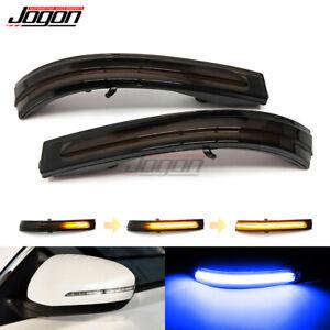 For Kia Optima K5 TF 2011- 2015 Car Sequential Dynamic Turn Signal Mirror Lamp