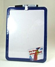 Dry Wipe Board with Pen 28 x 21cm Magnetic Dry Wipe White board