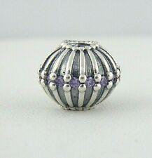 Pandora Show Stopper Purple CZ Sterling Silver Bead Charm