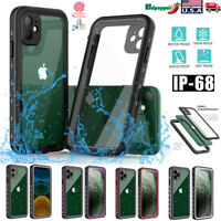 IP68 Waterproof Case For iPhone 11 11 Pro 11 Pro Max Dirt Proof Shockproof Cover