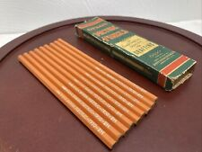 9 Vintage DIXON Metric Pencils in Original Box ~ Made in the U.S.A. 1910 2 H