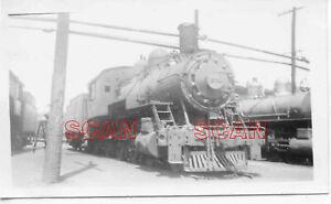 1C003 RP 1948 BALTIMORE & OHIO RAILROAD 4-6-0 LOCO #1372 PARKERSBURG WV