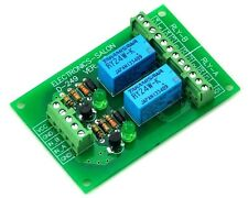 Two DPDT Signal Relay Module Board, DC24V Version, for PIC Arduino 8051 AVR. UK