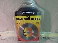 """Forney 71557 4 1/2"""" Tile Diamond Blade *BRAND NEW* FREE SHIPPING!!"""