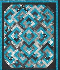 Diamond Double quilt pattern by Daniela Stout for Checkers