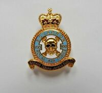 No 100 Squadron Royal Air Force Enamel Badge Air Combat Training