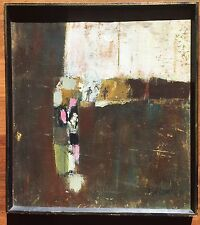 San Francisco 1964 Modernist Painting By Ted Bredt (1920-1985)