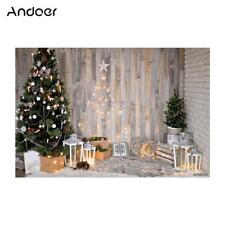 Andoer 5x7FT Christmas Tree Photography Backdrop Photo Studio Background Props