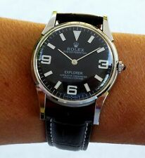 VINTAGE RECASED ROLEX OYSTER PERPETUAL EXPLORER CAL. 1601  🚚 FAST & FREE