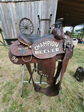 Dale Martin Trophy Roping Saddle