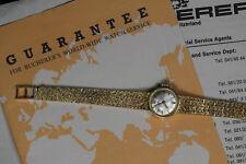 Beautiful Vintage Bucherer lady's 18K Gold watch and 18k Band