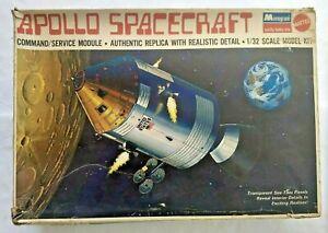 1970 Monogram 1/32 Apollo Spacecraft Command/Service Module Model Kit No.6873