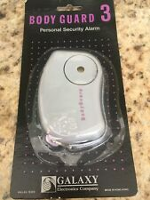 Body Guard 3 Personal Security Siren/ Alarm, New