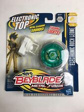 Beyblade Metal Fusion Electronic Top Rock Leone B13 Lights Sounds Defence NEW!!!
