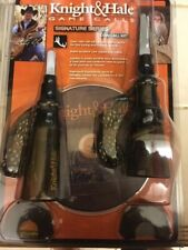 Knight & Hale Elk Game Call Assortment Kit Cow Bull +  2 Hunting DVD's