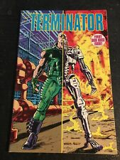 The Terminator#1 Awesome Condition 8.0(1990) Warner Art!!