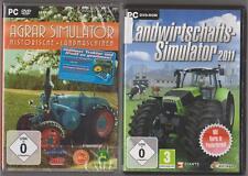 LANDWIRTSCHAFTS SIMULATOR 2011 + Agrar Simulator Historische Landmaschinen PC