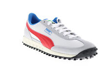Puma Easy Rider Ii 38102601 Mens White Leather Lifestyle Sneakers Shoes