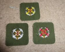 ARMY PATCH,ARMY SEW ON CLOTH BADGE SET OF 3, OPFOR, HAMBY'S FOR SUPPORT SOLDIERS