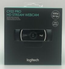 Logitech C922 Pro Stream Webcam Full HD 1080p video calling with stereo audio
