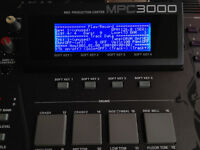 AKAI MPC3000 and MPC60mkII LED SCREEN LCD display NEW! LAST  4 LEFT! LOW PRICE!