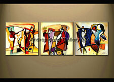 Large Modern Abstract Oil Painting Canvas Contemporary Wall Art Framed A1428