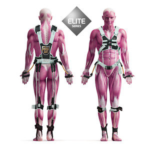 Mass Suit Elite Full Body Resistance Bands Work Out Sports MMA Football Training