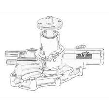 Tuff-Stuff Water Pump 1625NCRED; High Volume Red Aluminum for Ford 5.0L V8