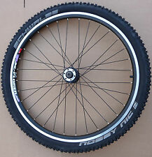REAR Alloy MTB ATB Mountain Bike bicycle wheel 8/9 speed Black QR Disc or Rim