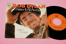 "BOB DYLAN 7"" I THREW IT ALL AWAY ORIG ITALIAN 1969"