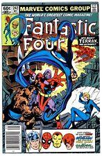 1)FANTASTIC FOUR #242(5/82)vs TERRAX(FRANKIE RAYE)NEWSSTAND(CGC IT)9.6/9.8(HOT)!