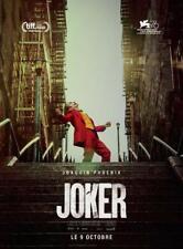 JOKER Affiche Cinéma ROULEE 53x40 Movie Poster Joaquin Phoenix Robert De Niro
