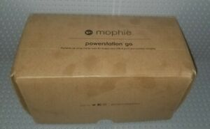 Mophie Powerstation GO Portable Car Jump Starter AC USB-A Wireless Phone Charger