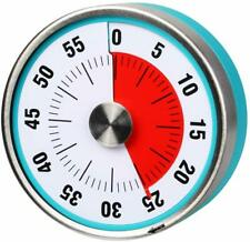 AIMIMILAR Timer meccanico da cucina magnetico – Timer visivo da 60 minuti