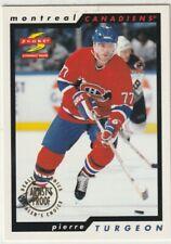 1996-97 Score 1x PIERRE TURGEON Dealer's Choice Artist's Proof #71 Canadiens
