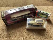 Solido Diecast Vehicles x3 Bundle Renault 5,Cadilllac 4060,Renault TN6C bus