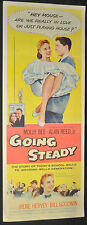 Going Steady Original 14x36 U.S. Insert Movie Poster - Columbia (1958) ITB WH