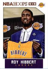 2015-16 Panini NBA Hoops #118 Roy Hibbert Los Angeles Lakers NM Trading Card