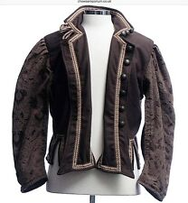 Larp SCA Cosplay Medieval Pirate costume Reversible Jacket- Doublet