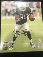 🔥Darren McFadden Autographed 8x10 PHOTO Oakland Raiders PSA DNA RARE 🔥